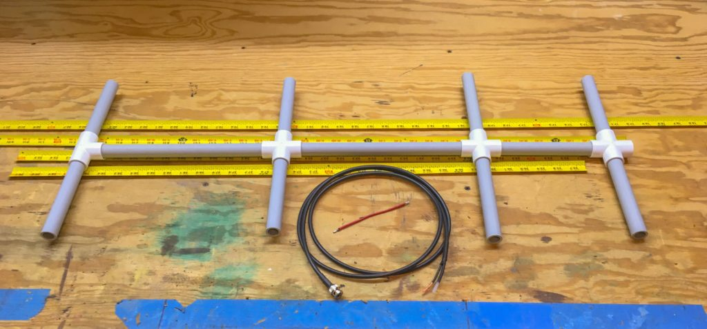 4 Element 2 Meter Yagi Antenna – Fuzz The Pi Guy